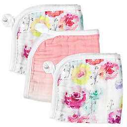 The Honest Company® 3-Pack Rose Blossom Organic Cotton Washcloths