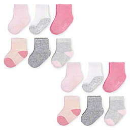 Fruit of the Loom 12-Pack Cooling Mesh Breathable Crew Socks in Pink