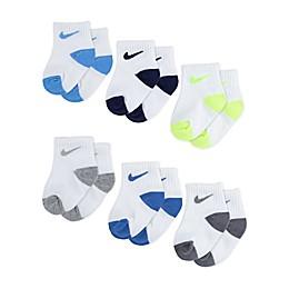 Nike® 6-Pack Knit Socks in University Blue/Grey