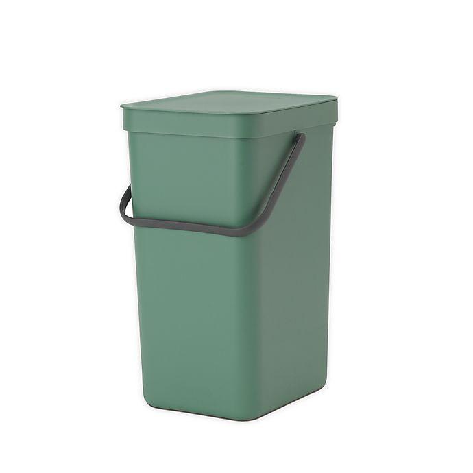 Alternate image 1 for Brabantia® Sort & Go Plastic Trash Can
