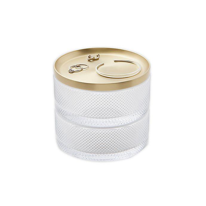 Alternate image 1 for Umbra® Tesora Jewelry Box in Brass