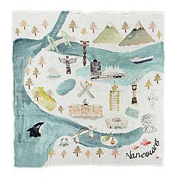 Loulou Lollipop Vancouver Swaddle Blanket
