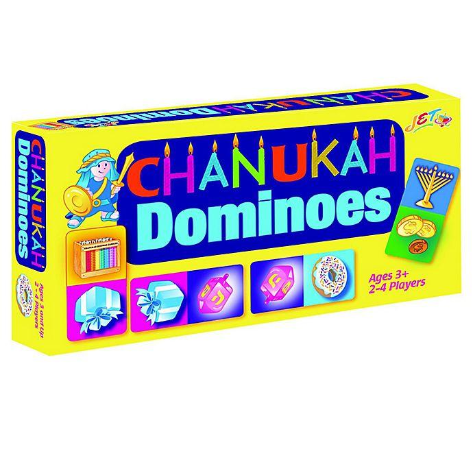 Alternate image 1 for Hanukkah Dominoes