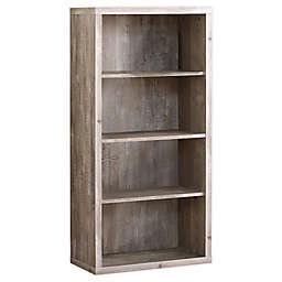 Monarch Specialties 4-Shelf Bookcase