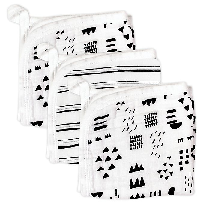 Alternate image 1 for The Honest Company® 3-Pack Washcloths