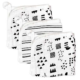 The Honest Company® 3-Pack Pattern Play Washcloths