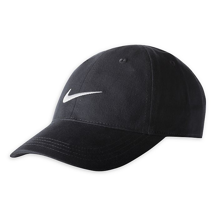 Alternate image 1 for Nike® Size 12-24M Swoosh Cap in Anthracite