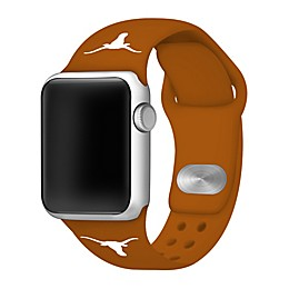 University of Texas Apple Watch® Short Silicone Band in Burnt Orange