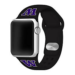 University of Washington Apple Watch® Short Silicone Band in Black