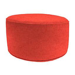 Jordan Manufacturing Pouf Patio Round Ottoman
