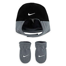 Nike® Toddler 2-Piece Swoosh Hat and Mitten Set in Navy