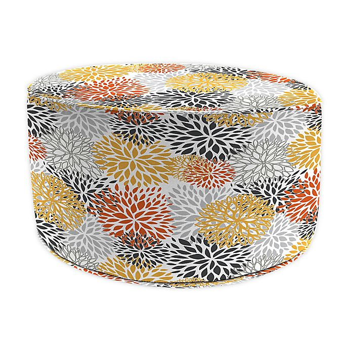 Alternate image 1 for Jordan Manufacturing Pouf Patio Round Ottoman