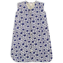 Touched by Nature Organic Cotton Daisy Sleeping Bag in Navy