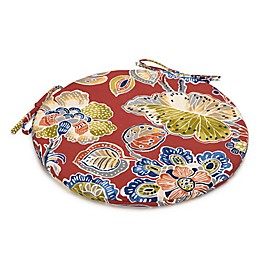 Destination Summer Indoor/Outdoor Round Bistro Chair Cushion