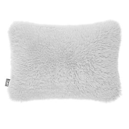 UGG® Trixie Plush Oblong Throw Pillow in Glacier Grey