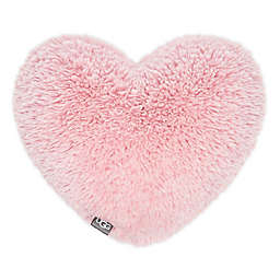 UGG® Trixie Heart Plush Throw Pillow