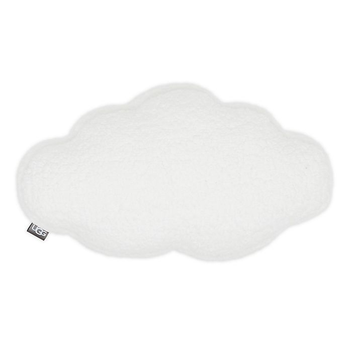 Alternate image 1 for UGG® Cloud Throw Pillow in Snow