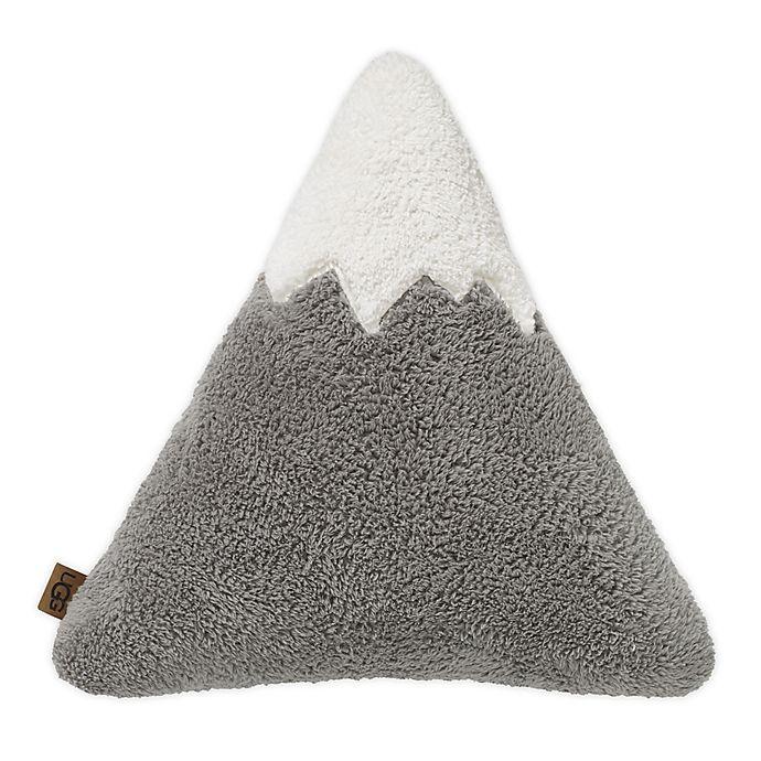 Alternate image 1 for UGG® Mountain Peak Sherpa Throw Pillow in Seal Grey