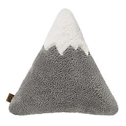 UGG® Mountain Peak Sherpa Throw Pillow in Seal Grey