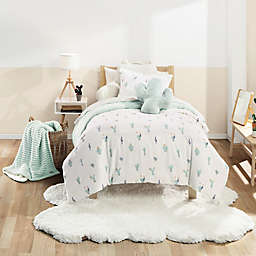 UGG® Cactus Bloom 2-Piece Twin Comforter Set in Mint