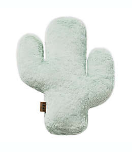 Cojín decorativo de poliéster imitación piel UGG® de cactus