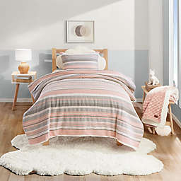 UGG® Belinda 3-Piece Full/Queen Comforter Set in Peach