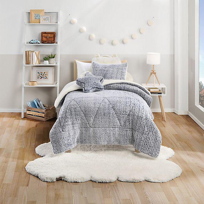 Alternate image 1 for UGG® Casey 3-Piece King Comforter Set in Navy
