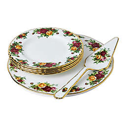 Royal Albert Old Country Roses 6-Piece Dessert Set