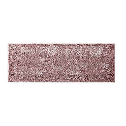 "VCNY Home 60"" x 22"" Butter Shine Chenille Noodle Bath Runner in Rose"