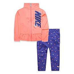 Nike® 2-Piece Star Track Jacket and Legging Set