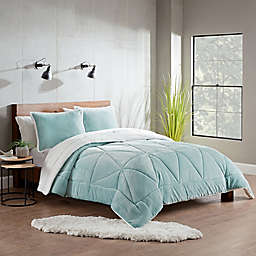 UGG® Avery 3-Piece Reversible Comforter Set