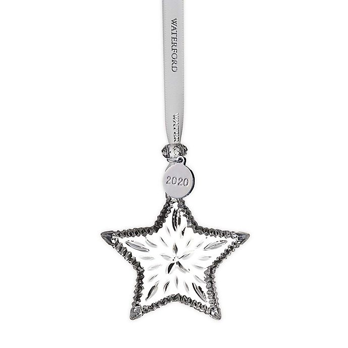 Waterford Christmas 2020 Ornaments Waterford® 2020 Annual 2.9 Inch Mini Star Christmas Ornament | Bed
