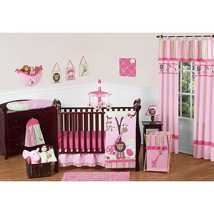 Sweet Jojo Designs Jungle Friends Crib Bedding Collection