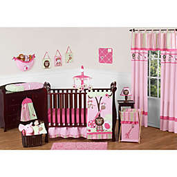 Pink And Green Crib Bedding Buybuy Baby