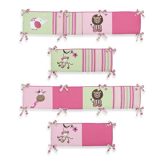 Sweet Jojo Designs Jungle Friends Crib Bumper Buybuy Baby