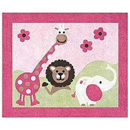 Sweet Jojo Designs Jungle Friends Accent Floor Rug