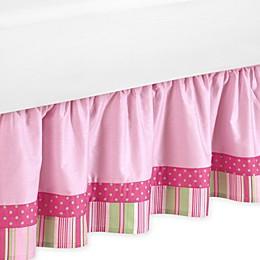 Sweet Jojo Designs Jungle Friends Toddler Bed Skirt