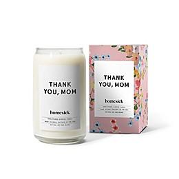 "Homesick ""Thank You, Mom"" Medium Soy Jar Candle"