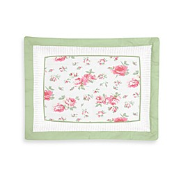 Sweet Jojo Designs Riley's Roses Standard Pillow Sham
