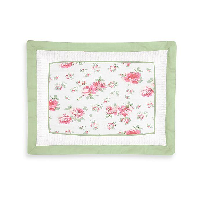 Alternate image 1 for Sweet Jojo Designs Riley's Roses Standard Pillow Sham