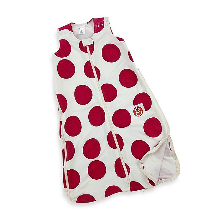 Alternate image 1 for Gunamuna Gunapod Wearable Blanket with WONDERZiP in Pink Dot