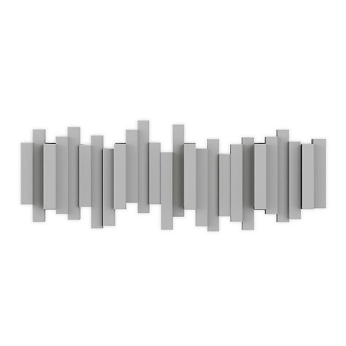 Alternate image 1 for Umbra® Sticks Multi-Hook Rack in Grey