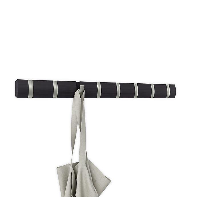 Alternate image 1 for Umbra® Flip 8-Hook Rack in Driftwood/Nickel