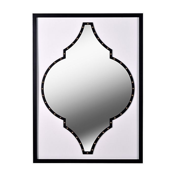 Alternate image 1 for Kenroy Home® Casablanca 28-Inch x 38-Inch Mirror in White