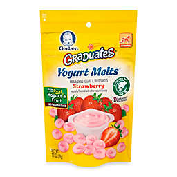 Gerber Graduates Organic Strawberry Yogurt Melts®