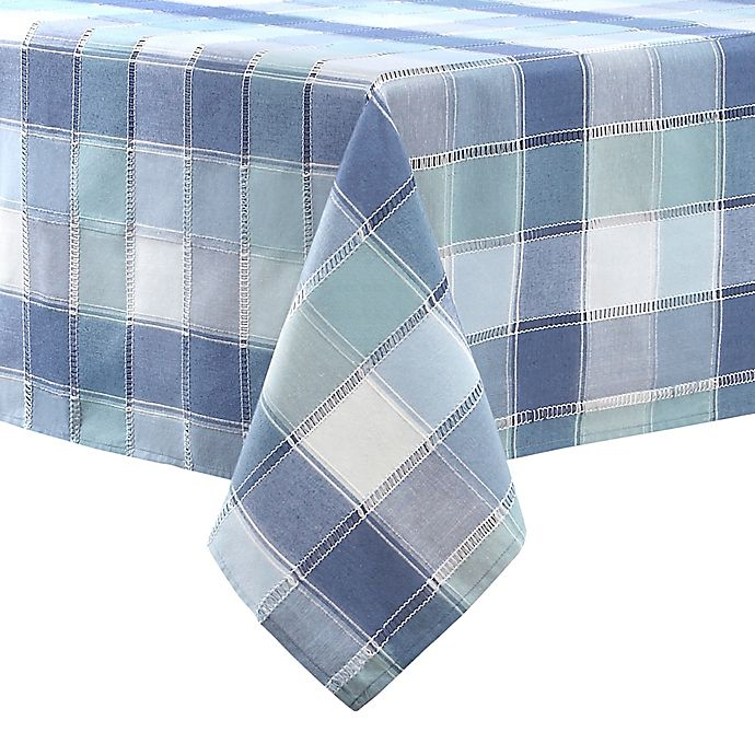 Alternate image 1 for Brooke Woven Plaid Table Linen Collection