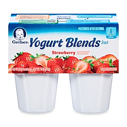 Gerber® Yogurt Blends 3.5 oz. Strawberry (6-Pack)