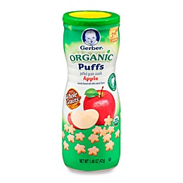 Gerber Graduates Puffs 1.48 oz. Organic Apple Canister