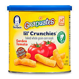 Gerber Graduates Lil' Crunchies 1.48 oz. Garden Tomato Canister