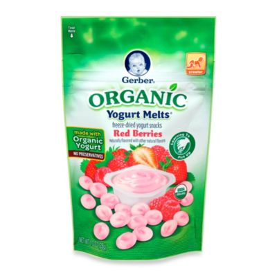 Gerber Graduates Organic Red Berries Yogurt Melts